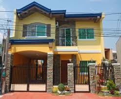 Bedroom   Storey House Plans Philippines With Blueprint Davies - Exterior house painting prices