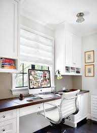 home office white. Home Office Built Ins Traditional With White Wood Built-in Desk