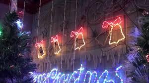 christmas rope lighting. Christmas Lighting Show Display: Rope Light Bell Animated Motif - YouTube
