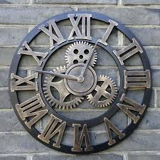 large wall clocks handmade retro rustic decorative luxury large wall clocks extra large wall clocks