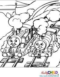 thomas the tank engine train coloring sheets 4