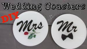 Wedding Coasters Wedding Coasters Diy Another Coaster Friday Craft Klatch Youtube