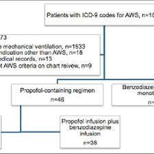 Patient Inclusion And Exclusion Flow Chart Abbreviation