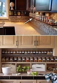 kitchen counter. Under Counter Spice Jar Shelf Kitchen Counter