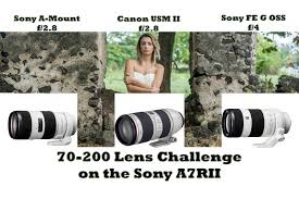 sony 70 200 f4. 70-200mm lens challenge- sony fe f/4, canon l f/2.8, a , on a7rii by jason lanier - youtube 70 200 f4
