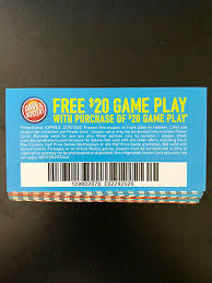 Dave And Busters Prices Chart 25 Dave And Busters D B 20 Gameplay With Same Purchase