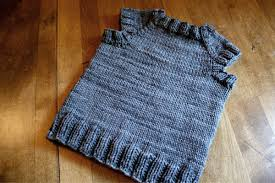 Free Knitted Vest Patterns Magnificent Sam Lamb Toddler Tshirt Vest