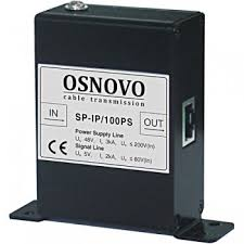 <b>OSNOVO SP</b>-<b>IP</b>/<b>100PS устройство грозозащиты</b> для локальной ...