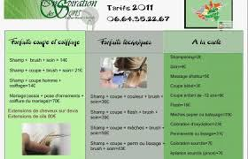 Tarif Coiffure A Domicile 2017 Beau Tarifs Coiffure à Domicile