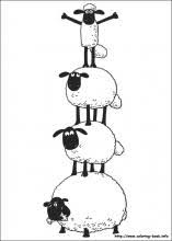 Small Picture Shaun the Sheep coloring pages on Coloring Bookinfo