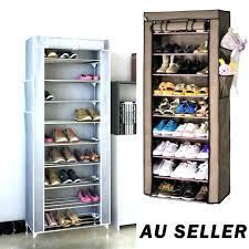 stackable shoe organizer shoe organizer pairs tiers portable steel shoe rack storage cabinet organiser shoe shelf