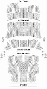 Chicago Symphony Seating Chart Up To Date Dress Circle Seating Privatebank Theatre Chicago