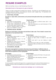 Cover Letter Resume Goals Examples Resume Statement Examples
