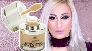 dermacol caviar long stay make up corrector review demo errythang