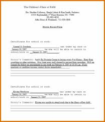 Download Fake Doctors Note 025 Template Ideas Dental Excuse Letter Doctors Note Top