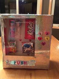 Vending Machine Valentine Box Inspiration Valentine Box Using Oatmeal Container Google Search Foosball