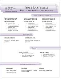 E Resumes Simple Latest Resume Format In Word On Free Cv Templates To E
