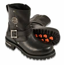 men s motorcycle boots pure leather 6 inch engineer boot