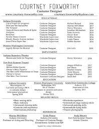 Costume Designer Resume Assistant Costume Designer Resume Businessjournalme 17