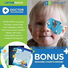 Opthopatch Kids Eye Patches Fun Boys Design 90 10 Bonus