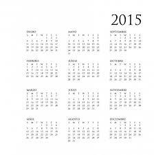 Annual Calendar 2015 2015 Annual Calendar In Spanish Free Stock Photo Public