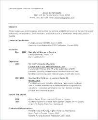 Student Nurse Resume Template Nursing School Resumes Student Nurse ...