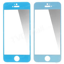 glasto 0 3mm tempered glass screen protector cover for iphone 5s 5c 5 blue