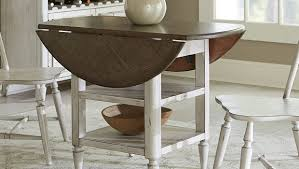 Top  DropLeaf Styles For Small Spaces Overstockcom - Dining room table for small space