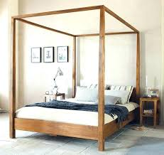 Solid Wood Four Post Beds Solid Wood Bed Frames Solid Wood, 4 Post ...