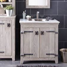 rustic gray bathroom vanities. Rustic Bathroom Ideas. Grey Furniture. Driftwood Vanity. Gray Vanities A