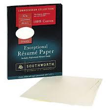 Southworth Cotton Resume Paper - Ivory