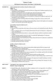 Supply Chain Resumes Supply Chain Consultant Resume Samples Velvet Jobs 15