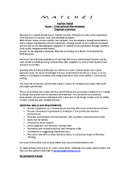 Visual Merchandising Manager Cover Letter Character Sketch Essay