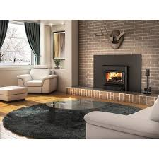 century wood burning fireplace insert with blower and surround free today 10672632