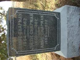 Fannie Chapman (1854-1862) - Find A Grave Memorial