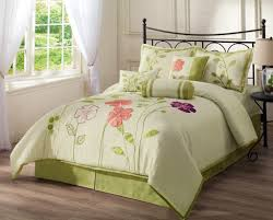 pink and green bedding full purple and greending white set with pink fl pattern pla on