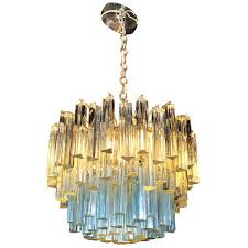 murano glass chandelier with white and blue crystals camer at for amazing household murano crystal chandelier prepare