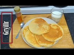 pancakes without baking powder and