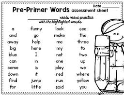 Pre Primer Dolch Sight Word Sentence Flashcards Dolch Pre Primer By Brenda Tejeda