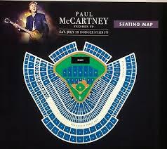 2 Paul Mccartney Tickets For Fort Wayne Concert 950 00