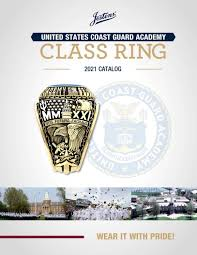 Jostens Class Ring Size Chart United States Coast Guard Academy Class Ring Catalog 2021 By