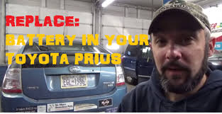 Replace 12 Volt Battery - Toyota Prius - YouTube