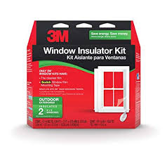 <b>3M</b> 2170W-6 Outdoor <b>Window</b> Insulator Kit, Two Pack (3' X 5 ...