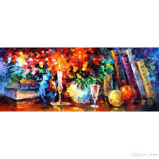 2019 landscapes art oil paintings leonid afremov books and flowers modern canvas painting hand painted wall decor from dessa 141 71 dhgate com