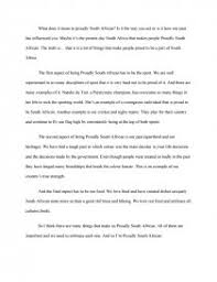 proudly south african essay similar essays