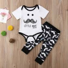 <b>Pudcoco Newborn Infant Baby</b> Girl Boy Print Romper Sleeveless ...