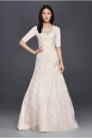 sheath form fitting wedding dresses david s bridal