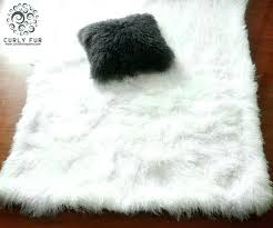 faux sheepskin rug 8x10 faux fur area rug area rug smashing home ideas guide to house