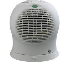 fan heater. challenge 2.4kw upright oscillating fan heater