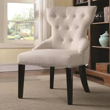 white accent chairs  adding a splash of style  elegant furniture